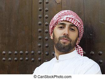 arabo, giovane
