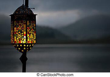 arabo, lampada