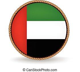 arabo, unito, emirati, sigillo