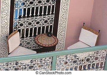 arabszczyzna, dom, szczegół