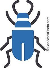 arachnid vector color line icon