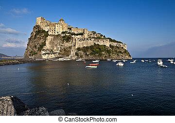 Aragonese castle (Ischia island, Italy)