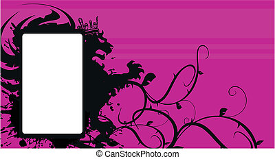 araldico, background5, leone