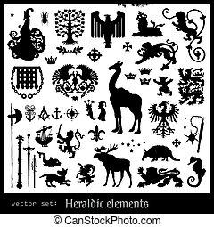araldico, elementi
