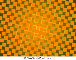 arancia, astratto, fondo, squadre