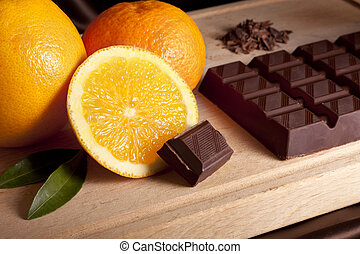 arancia, cioccolato