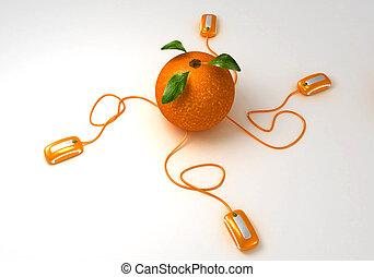 arancia, comunicazioni