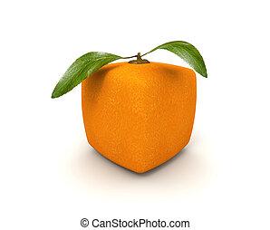 arancia, cubista