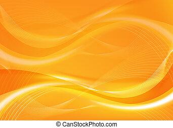 arancia, disegno astratto
