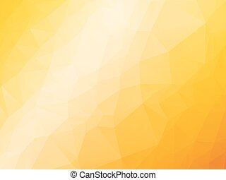 arancia, estate, sfondo giallo