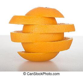 arancia, fette