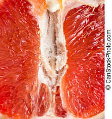 arancia, fondo., frutta