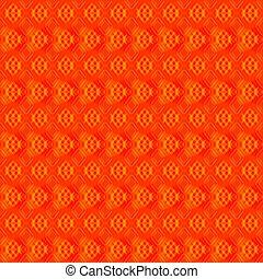 arancia, fondo., strisce, rosso, cuori