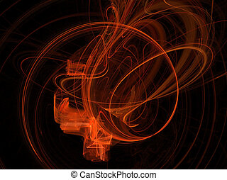 arancia, fractal
