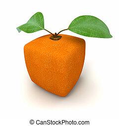 arancia, geometrico