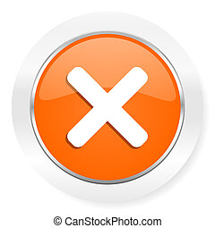 arancia, icona computer