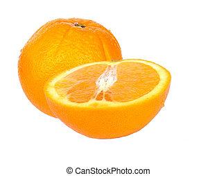 arancia, mezzo