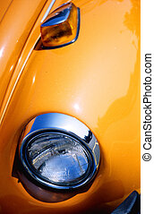 arancia, parafuoco macchina
