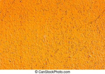 arancia, parete