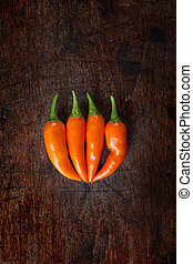 arancia, peperoncino