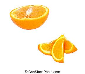 arancia, pezzi
