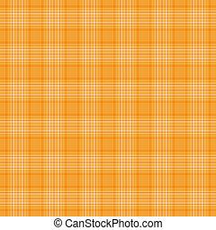arancia, plaid, seamless