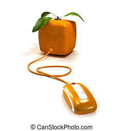arancia, posta elettronica
