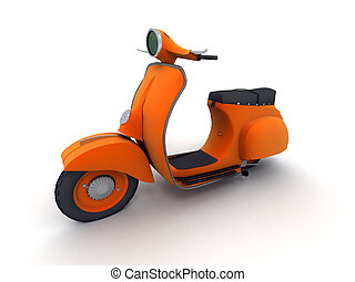 arancia, scooter
