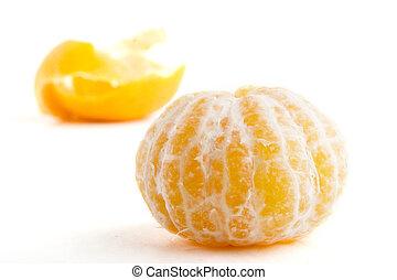 arancia, senza, buccia