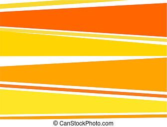 arancia, sfondo giallo