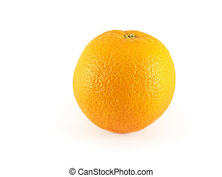 arancia, singolo, frutta
