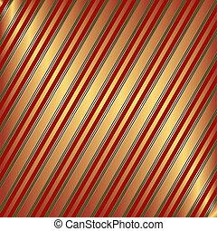 arancia, strisce, diagonale, fondo, rosso