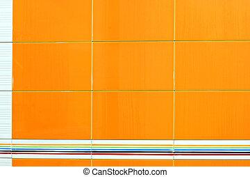 arancia, tegole