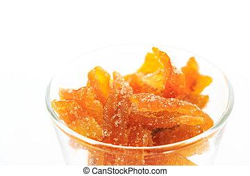 arancia, vetro, mandarino, succade, /