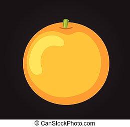 arancia, vettore