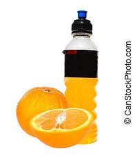 aranciata, bottiglia