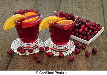 arando, e, laranja, saúde, bebida