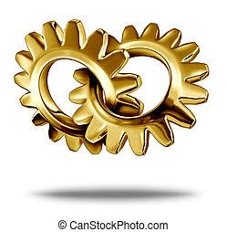arany-, ügy, társas viszony