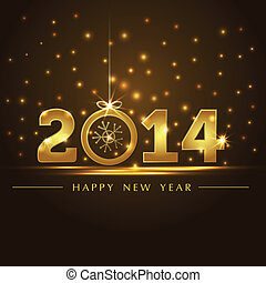 arany-, 2014, év, kártya, bemutatás