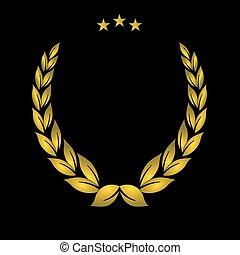 arany-, címer