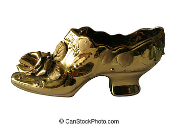 arany-, cipő