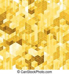arany-, elvont, pattern., seamless