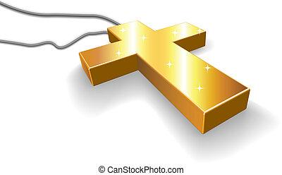 arany-, feszület