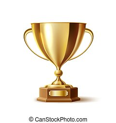 arany-, gold csésze, adományoz, gyakorlatias, vektor, hadizsákmány