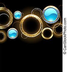arany-, Gyűrű, háttér