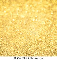 arany, háttér, fény, karika