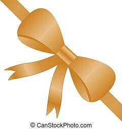 arany-, helyes, arany, bow., íj, corner., sarok