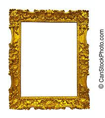 arany, képkeret
