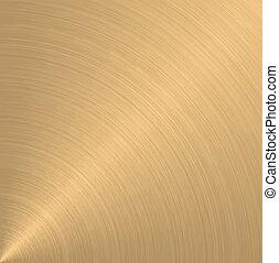 arany, kör alakú
