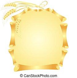 arany-, keret